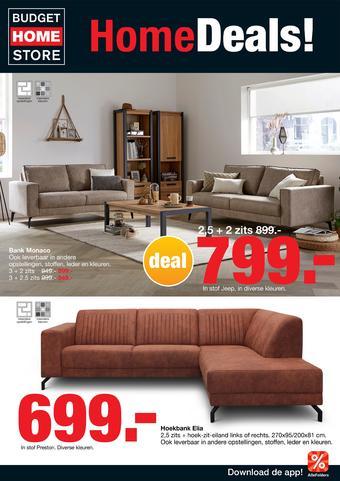 Budget Home Store reclame folder (geldig t/m 20-10)