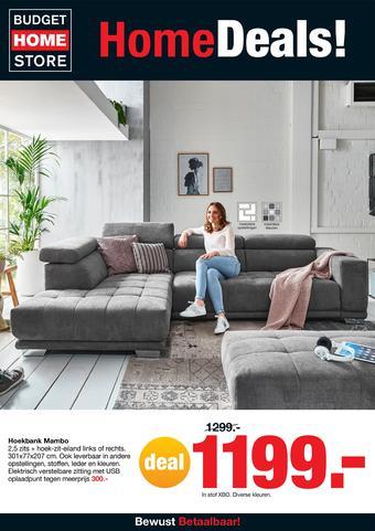 Budget Home Store reclame folder (geldig t/m 03-11)