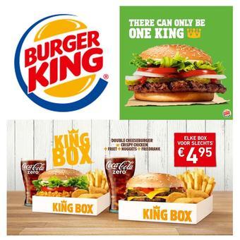 Burger King reclame folder (geldig t/m 24-06)