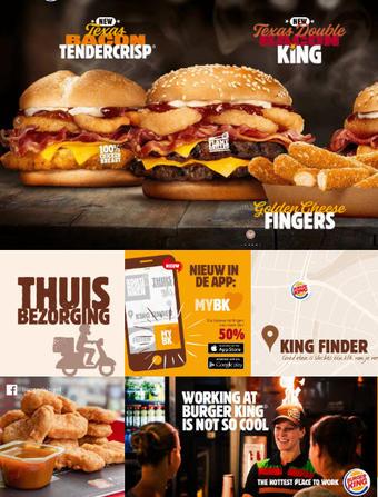 Burger King reclame folder (geldig t/m 28-07)