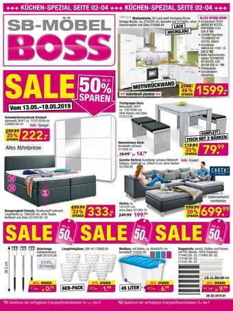 Möbel Boss Prospekt (bis einschl. 19-05)