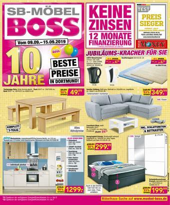 Möbel Boss Prospekt (bis einschl. 15-09)