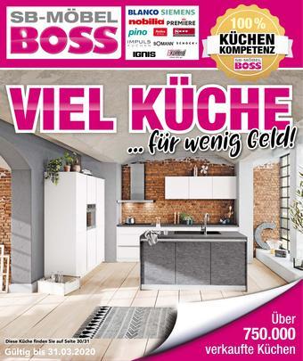 Möbel Boss Prospekt (bis einschl. 31-03)