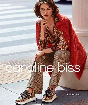 Caroline Biss reclame folder (geldig t/m 22-10)