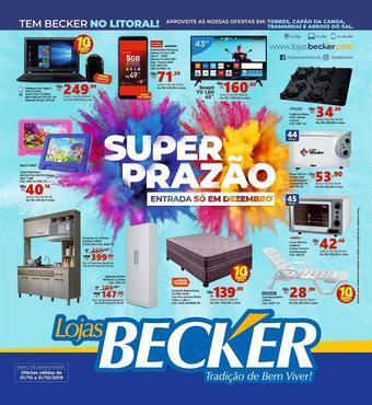 Lojas Becker catálogo promocional (válido de 10 até 17 31-10)