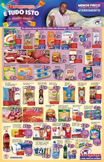 Supermercados Savegnago catálogo promocional (válido de 10 até 17 24-10)