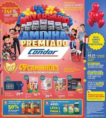 Supermercados Condor catálogo promocional (válido de 10 até 17 31-10)