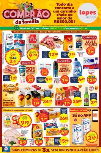 Lopes Supermercados catálogo promocional (válido de 10 até 17 22-10)