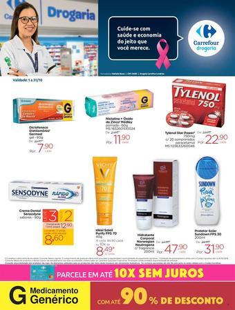 Drogarias Carrefour catálogo promocional (válido de 10 até 17 31-10)