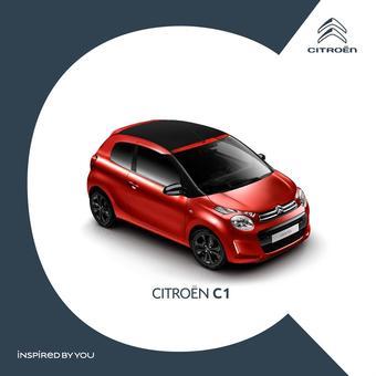 Citroën reclame folder (geldig t/m 21-02)