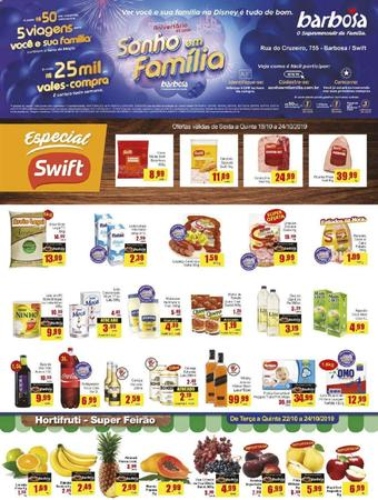 Barbosa Supermercados catálogo promocional (válido de 10 até 17 25-10)