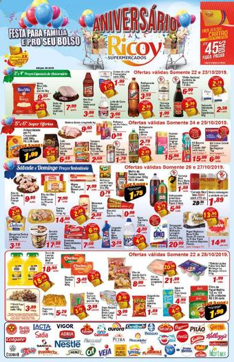 Ricoy Supermercados catálogo promocional (válido de 10 até 17 28-10)