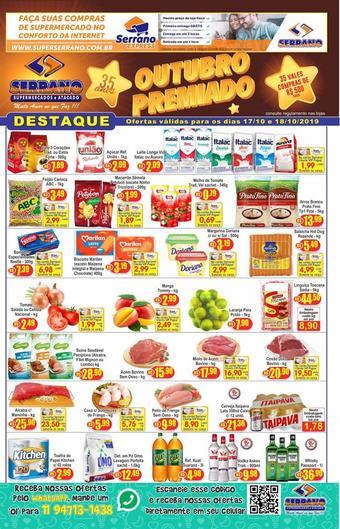 Serrano Supermercado catálogo promocional (válido de 10 até 17 23-10)