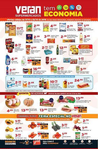 Veran Supermercados catálogo promocional (válido de 10 até 17 23-10)