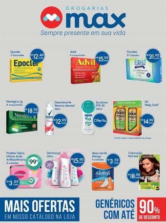 Drogarias Max catálogo promocional (válido de 10 até 17 15-11)