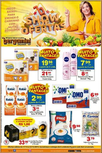 Supermercado Bergamini catálogo promocional (válido de 10 até 17 24-10)