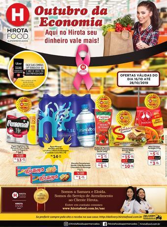 Hirota Food Supermercado catálogo promocional (válido de 10 até 17 28-10)