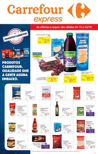 Carrefour Express catálogo promocional (válido de 10 até 17 23-10)