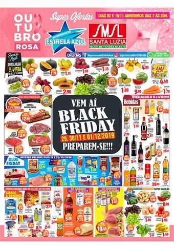 Supermercado Estrela Azul catálogo promocional (válido de 10 até 17 31-10)