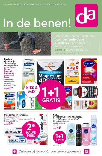 DA reclame folder (geldig t/m 22-09)