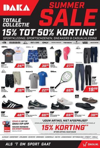 Daka Sport reclame folder (geldig t/m 01-09)