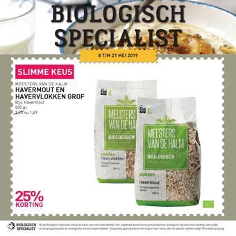 de Biologisch Specialist reclame folder (geldig t/m 21-05)