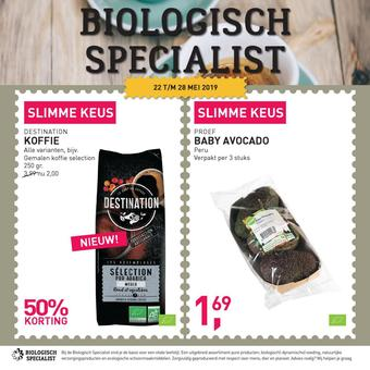 de Biologisch Specialist reclame folder (geldig t/m 28-05)