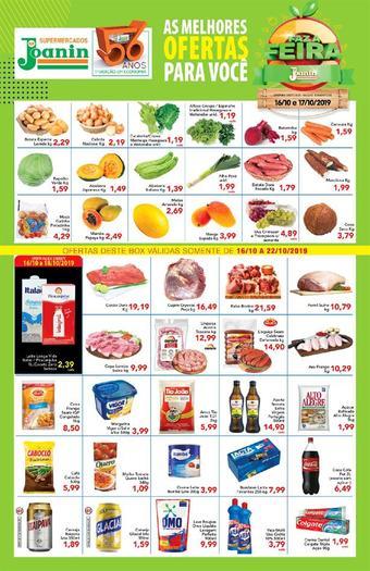Supermercados Joanin catálogo promocional (válido de 10 até 17 22-10)