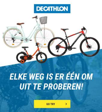 Decathlon reclame folder (geldig t/m 31-08)