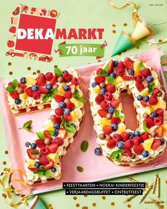 Dekamarkt reclame folder (geldig t/m 28-07)