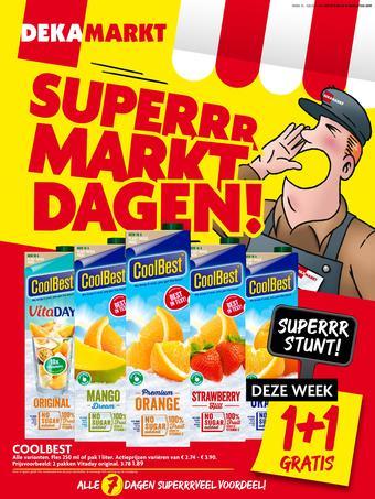 Dekamarkt reclame folder (geldig t/m 31-08)