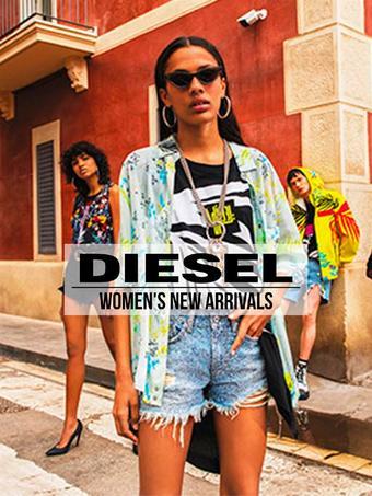 Diesel reclame folder (geldig t/m 14-07)