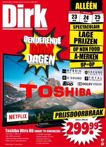 Dirk reclame folder (geldig t/m 25-05)