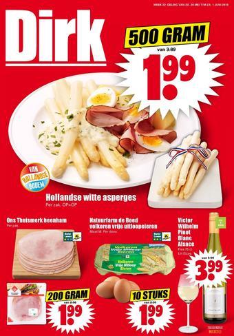 Dirk reclame folder (geldig t/m 01-06)