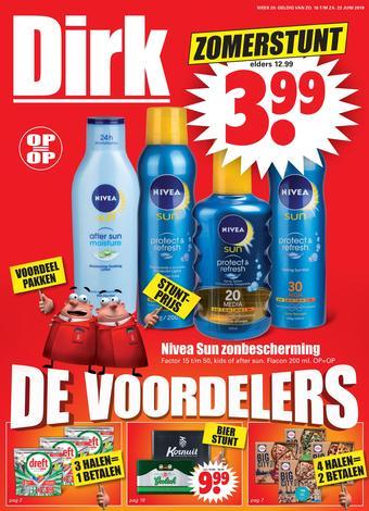 Dirk reclame folder (geldig t/m 22-06)