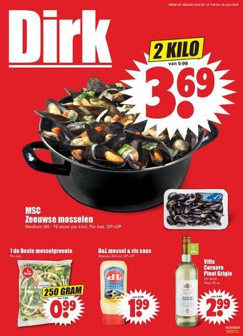 Dirk reclame folder (geldig t/m 20-07)
