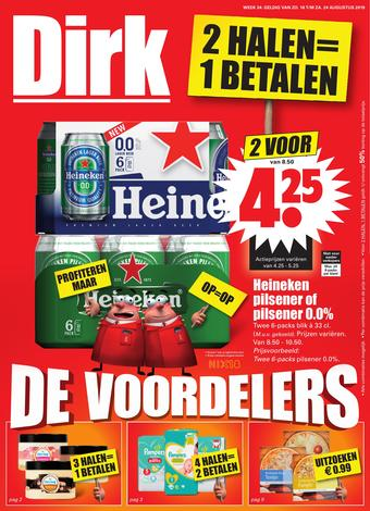 Dirk reclame folder (geldig t/m 24-08)