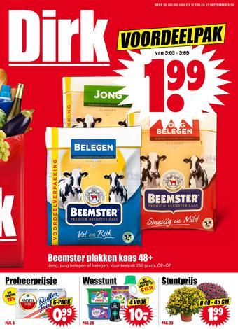 Dirk reclame folder (geldig t/m 21-09)