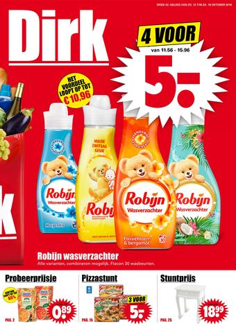 Dirk reclame folder (geldig t/m 19-10)
