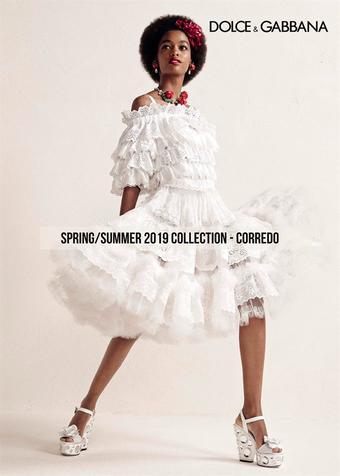 Dolce & Gabbana reclame folder (geldig t/m 20-05)