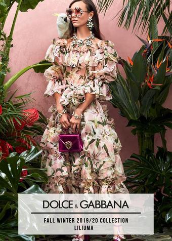 Dolce & Gabbana reclame folder (geldig t/m 23-10)