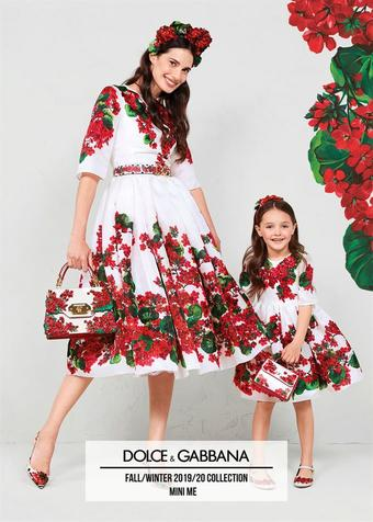 Dolce & Gabbana reclame folder (geldig t/m 26-12)