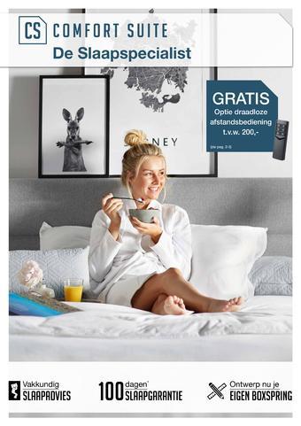 Comfort Suite reclame folder (geldig t/m 27-10)
