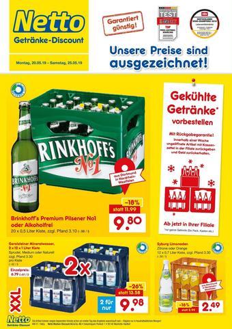 Netto Getränke Discount Prospekt (bis einschl. 25-05)