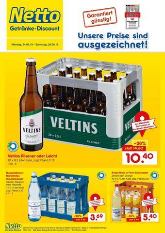 Netto Getränke Discount Prospekt (bis einschl. 29-06)