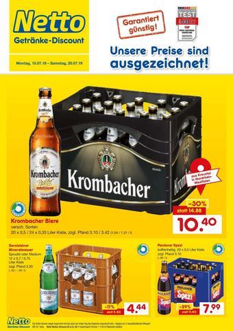 Netto Getränke Discount Prospekt (bis einschl. 20-07)