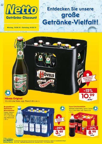 Netto Getränke Discount Prospekt (bis einschl. 24-08)