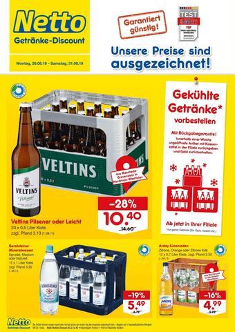 Netto Getränke Discount Prospekt (bis einschl. 31-08)