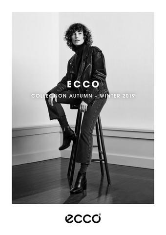 ECCO reclame folder (geldig t/m 03-02)