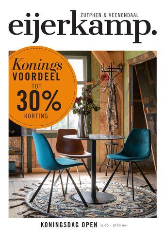 Eijerkamp reclame folder (geldig t/m 26-05)
